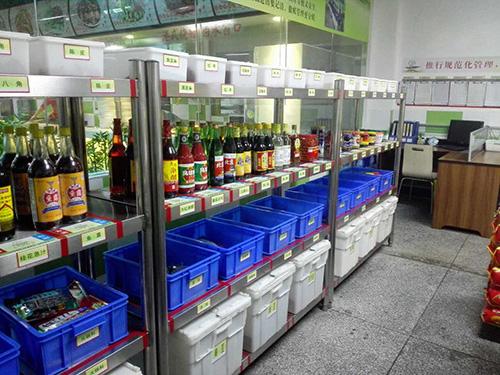 食堂仓库规范化管理分类明确