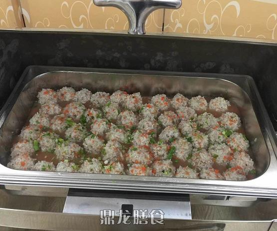 自助餐菜出品展示(鼎龙膳食)